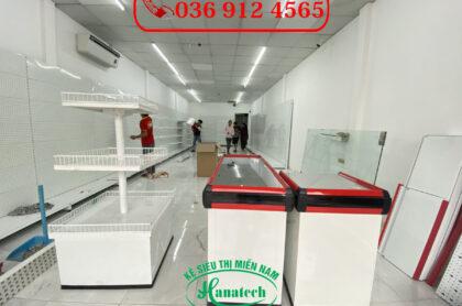 Bàn thu ngân siêu thị Hanatech