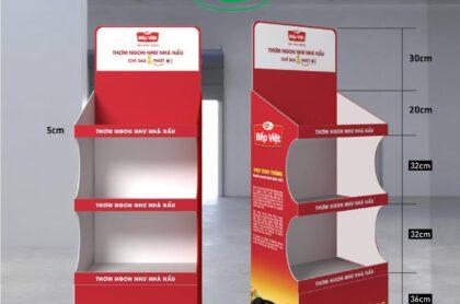 Kệ trưng bày quảng cáo giới thiệu sản phẩm