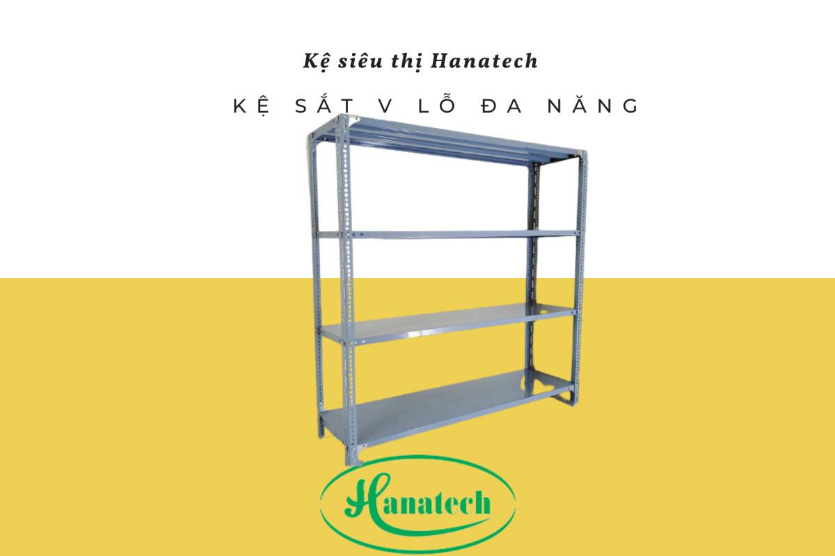 Giá kệ sắt V lỗ đa năng tại Lâm Đồng
