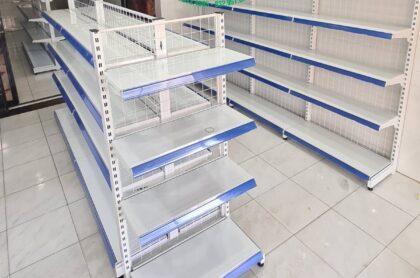 Kệ siêu thị đôi lưng lưới
