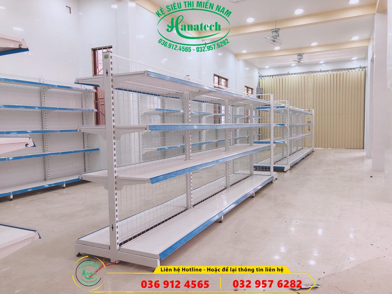 Giá kệ siêu thị trưng bày sản phẩm tại Long Thành Đồng Nai