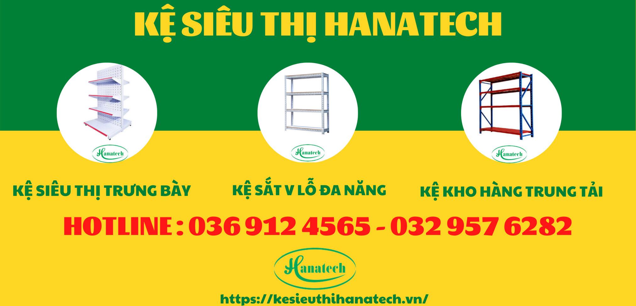 Giá kệ siêu thị Hanatech