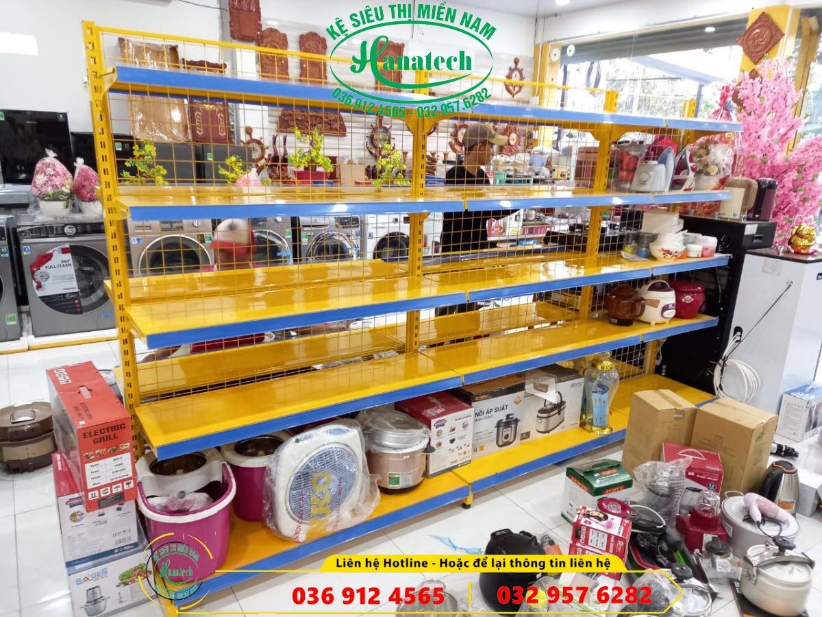 Giá kệ siêu thị trưng bày điện máy đồ gia dụng