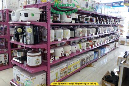 Kệ siêu thị điện máy tại Bình Phước