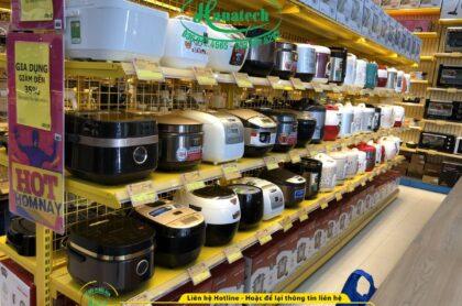 Kệ siêu thị trưng bày điện máy đồ gia dụng