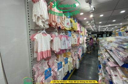 Kệ shop mẹ và bé tại Bình Dương