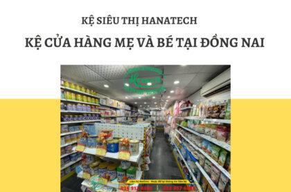 Giá kệ trưng bày cửa hàng mẹ và bé tại Đồng Nai