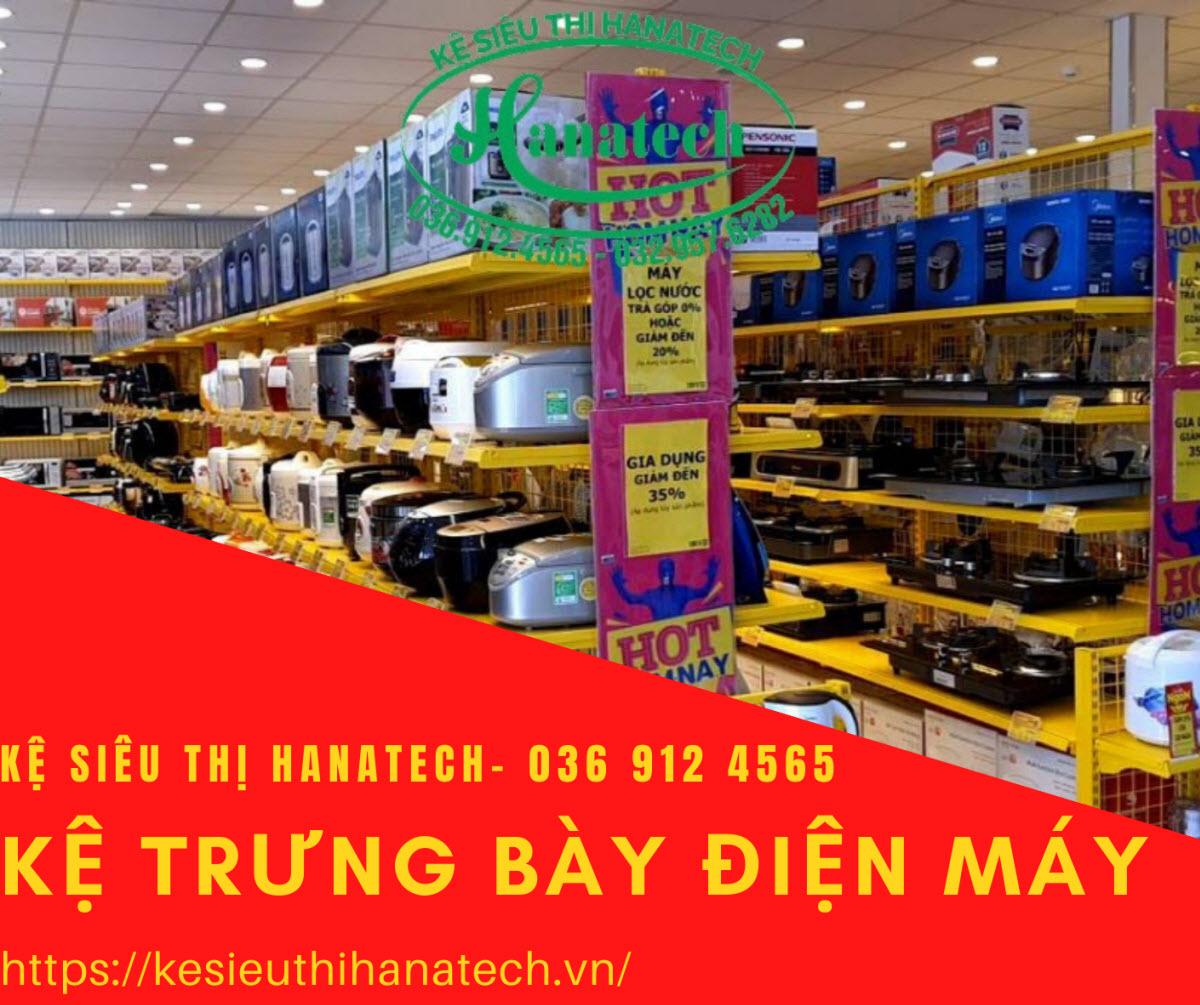 Giá kệ siêu thị trưng bày điện máy tại Bình Phước
