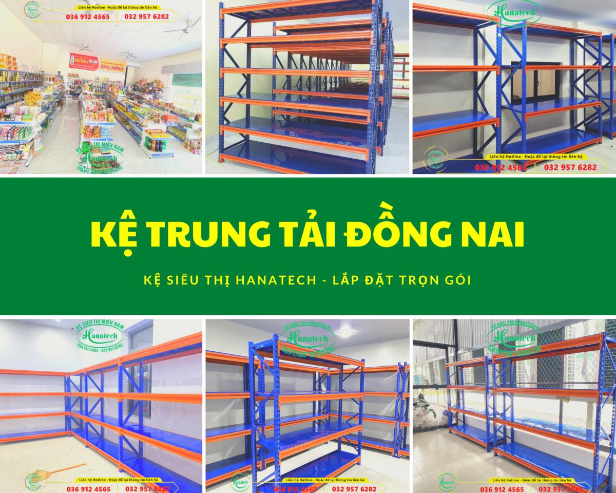 Giá kệ kho trung tải tại Đồng Nai