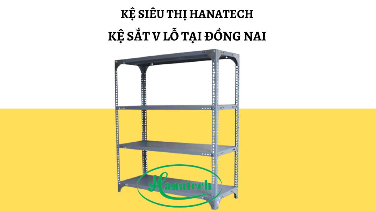 Bảng báo giá kệ sắt V lỗ tại Đồng Nai