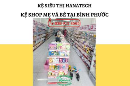 Kệ shop mẹ và bé tại Bình Phước