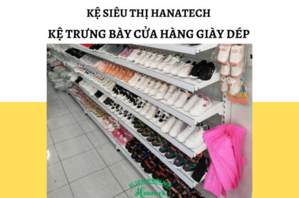 Kệ trưng bày cửa hàng giày dép