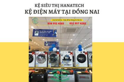 Kệ siêu thị điện máy đồ gia dụng tại Đồng Nai