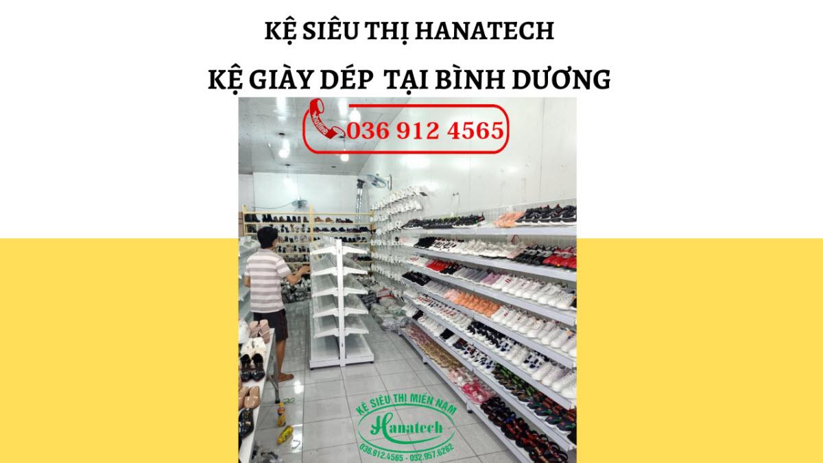 Giá kệ trưng bày cho cửa hàng giày dép tại Bình Dương