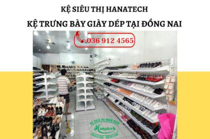 Kệ trưng bày giày dép tại Đồng Nai