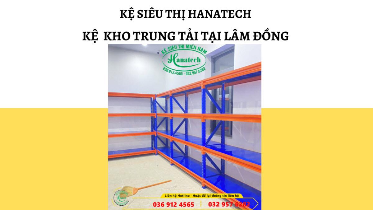 Giá kệ kho trung tải tại Lâm Đồng