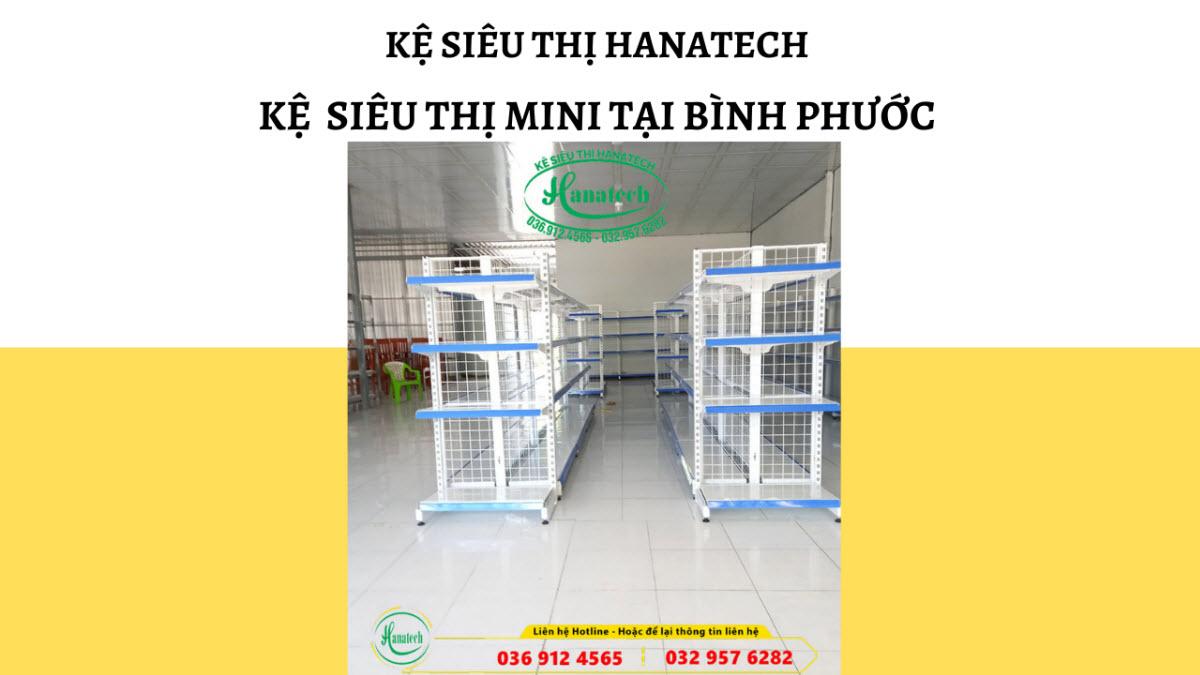 Giá kệ siêu thị Mini tại Bình Phước