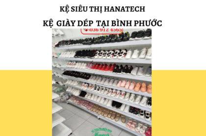 Kệ trưng bày giày dép tại Bình Phước