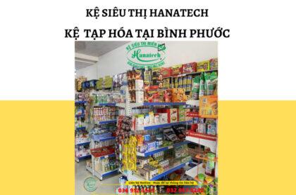 Kệ tạp hóa tại Bình Phước
