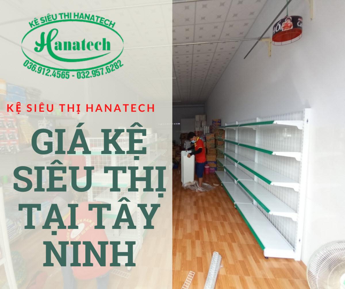 Bảng báo giá kệ siêu thị trưng bày hàng tại Tây Ninh