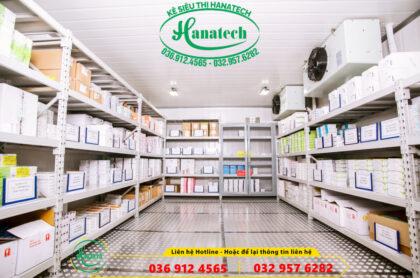 Kệ kho lạnh chuẩn chất lượng tốt nhất thị trường của Hanatech