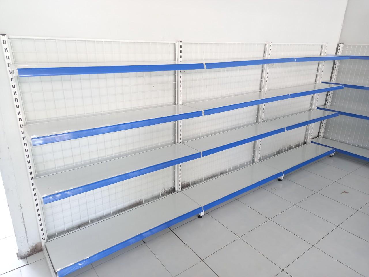 Bảng báo giá kệ siêu thị 4 tầng mới