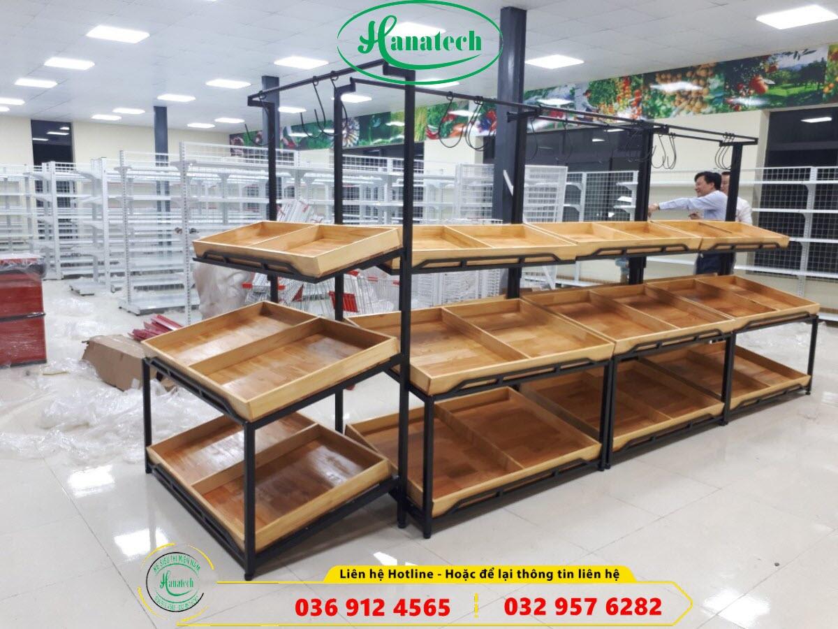 Giá kệ siêu thị trưng bày sản phẩm hàng hóa tại Thủ Dầu Một Bình Dương
