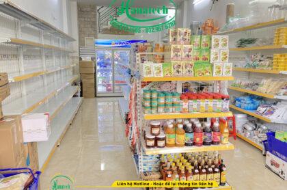 Lắp đặt kệ trưng bày nguyên liệu và dụng cụ làm bánh tại TPHCM