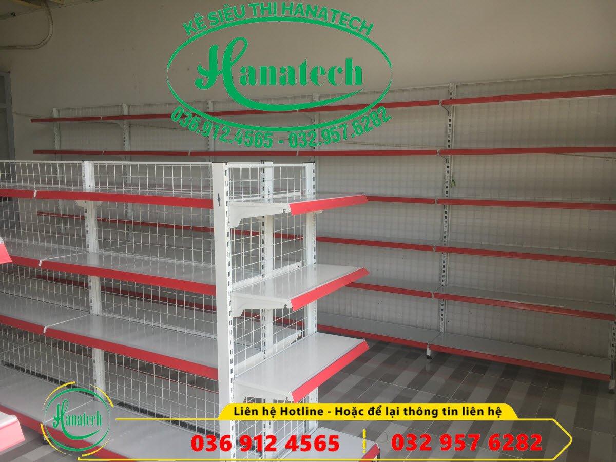 Lắp đặt kệ siêu thị cho cửa hàng tạp hóa tại Bình Thủy Cần Thơ