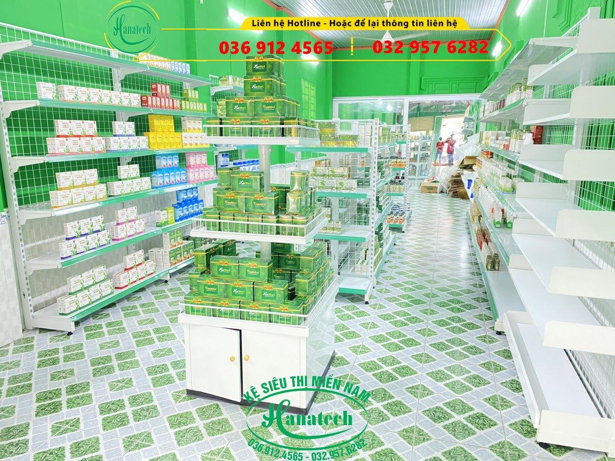 Kệ trưng bày sữa Bình Phước